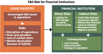 Environmental and Social Risk for Financial Institutions