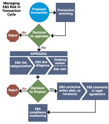Managing E&S in Transaction Cycle